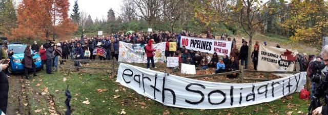 burnaby mountain earth solidarity