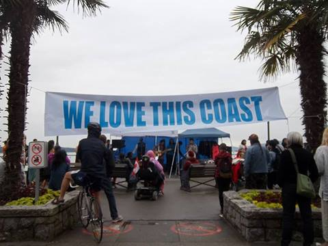 We love this coast banner English Bay
