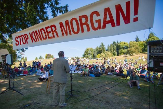 Stop Kinder Morgan with Mayor Corrigan