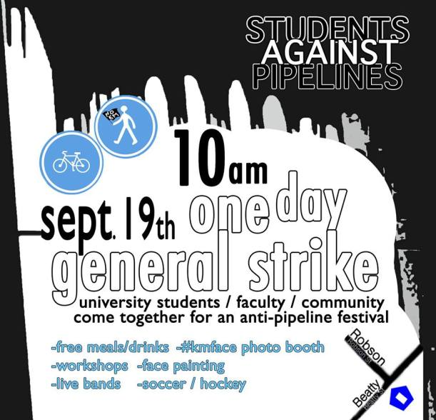 students against pipelines