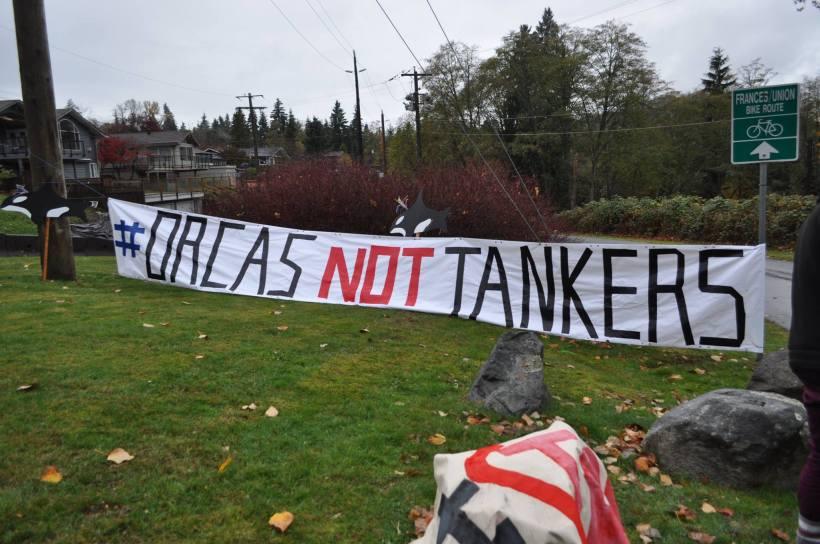 orcas not tankers banner burnaby mtn.jpg